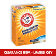 Arm & Hammer® [84162] Clean Burst® Laundry Detergent - (2) 120 Load Boxes