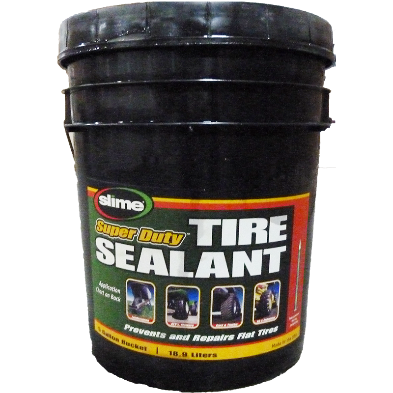 Slime 5 Gallon Tire Sealant for all tires SDS-5GAL-CL