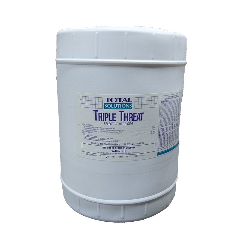 Total Solutions Triple Threat Selective Herbicide - 5 Gallons GC-363-CL