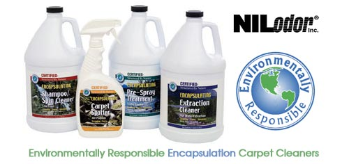 Environmentally Responsible Encapsulation Carpet Cleaners