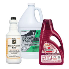 Pet Odor & Stain Removers