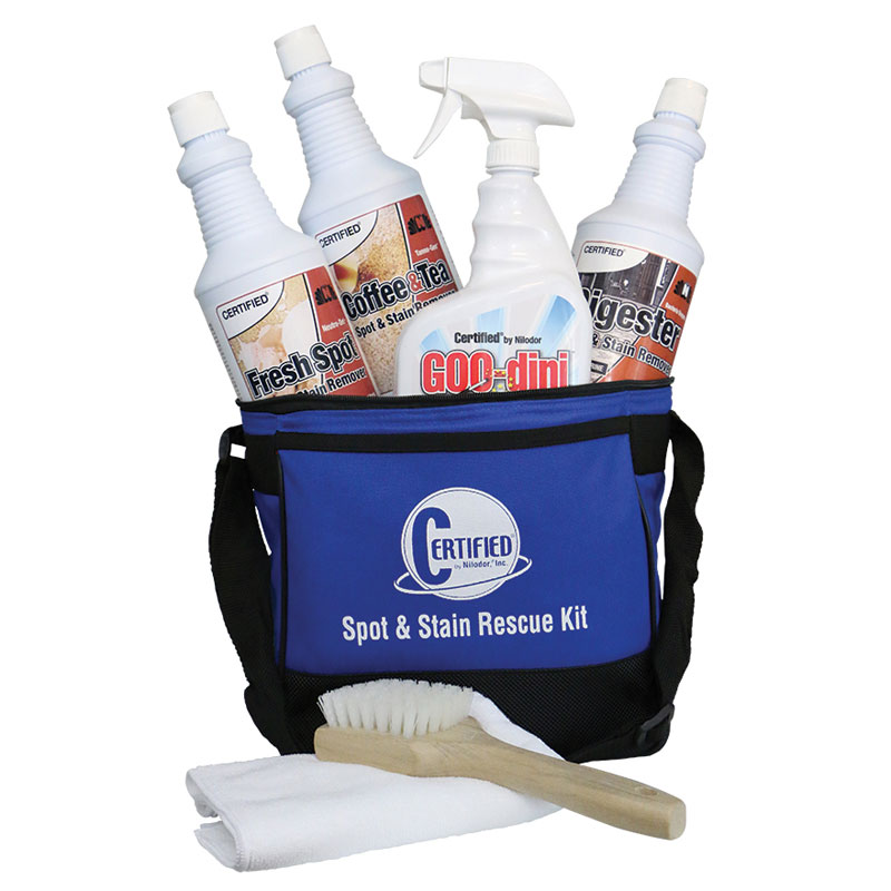 Nilodor CERTIFIED Spot & Stain Rescue Kit