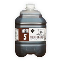 APM [1618] #5 MR. Degreaser Meatroom Degreaser & Heavy Duty Cleaner Concentrate - (6) 1 Liter Bottles