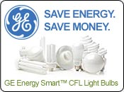 GE Energy Smart™ Compact Fluorescent (CFL) Bulbs