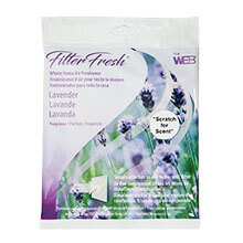 Web FilterFresh Lavender Scented Furnace Filter Air Freshener Pad