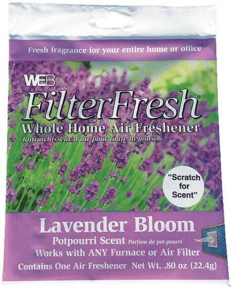 Web FilterFresh Lavender Scented Air Freshener Pad
