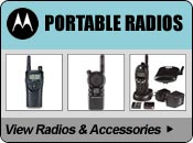 Motorola 2-Way Portable Radios & Communicators