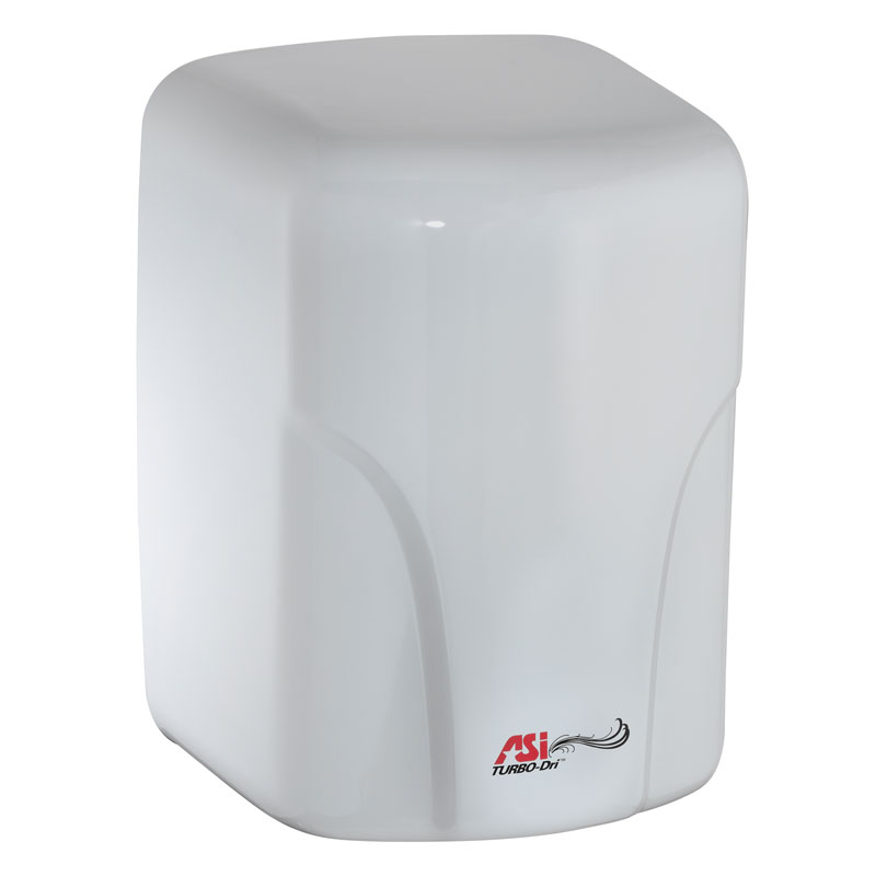 American Specialties [0197-1] TURBO-Dri™ Surface Mounted High-Speed Automatic Hand Dryer - 110/120V - White