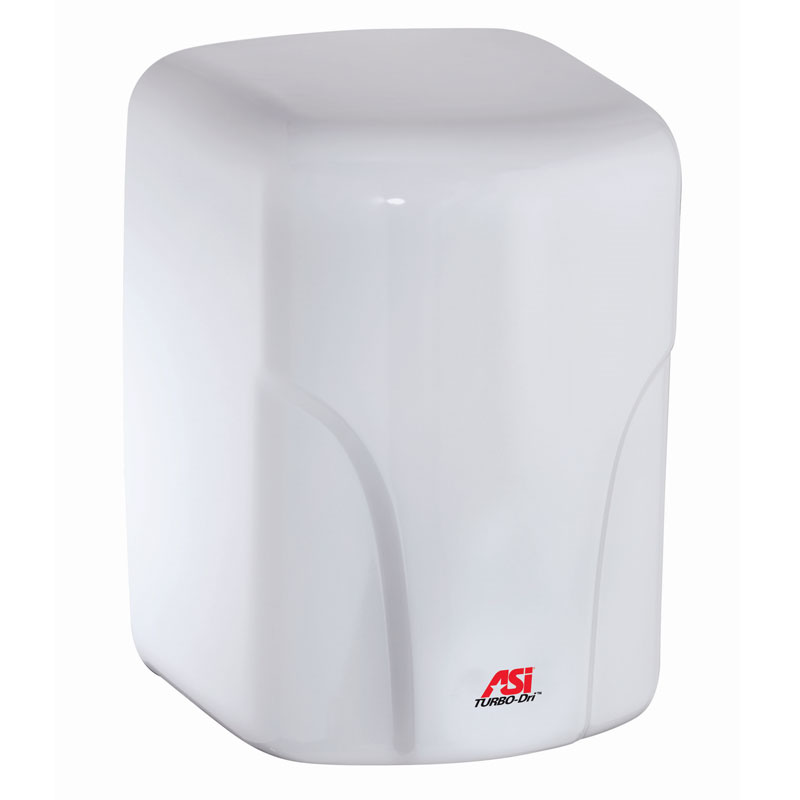 American Specialties [0197-2] TURBO-Dri™ Surface Mounted High-Speed Automatic Hand Dryer - 220/240V - White