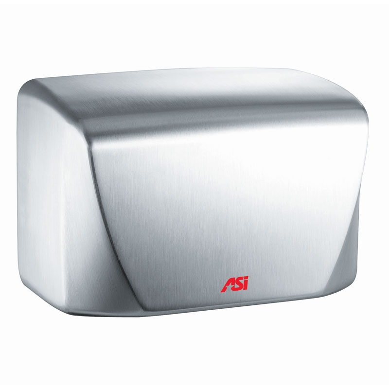 TURBO-Dri Junior Surface Mounted High-Speed Automatic Hand Dryer - 110/120V - Satin Stainless Steel