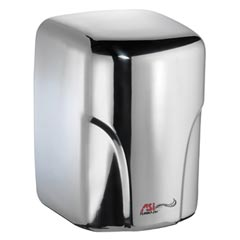 American Specialties [0197-1-92] TURBO-Dri™ Surface Mounted High-Speed Automatic Hand Dryer - 110/120V - Bright Stainless Steel