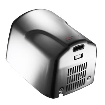 American Specialties [0197-2-92] TURBO-Dri™ Surface Mounted High-Speed Automatic Hand Dryer - 220/240V - Bright Stainless Steel