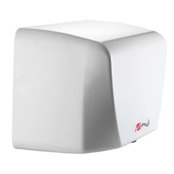 American Specialties [0198-2] TURBO-Dri™ Junior Surface Mounted High-Speed Automatic Hand Dryer - 220/240V - White