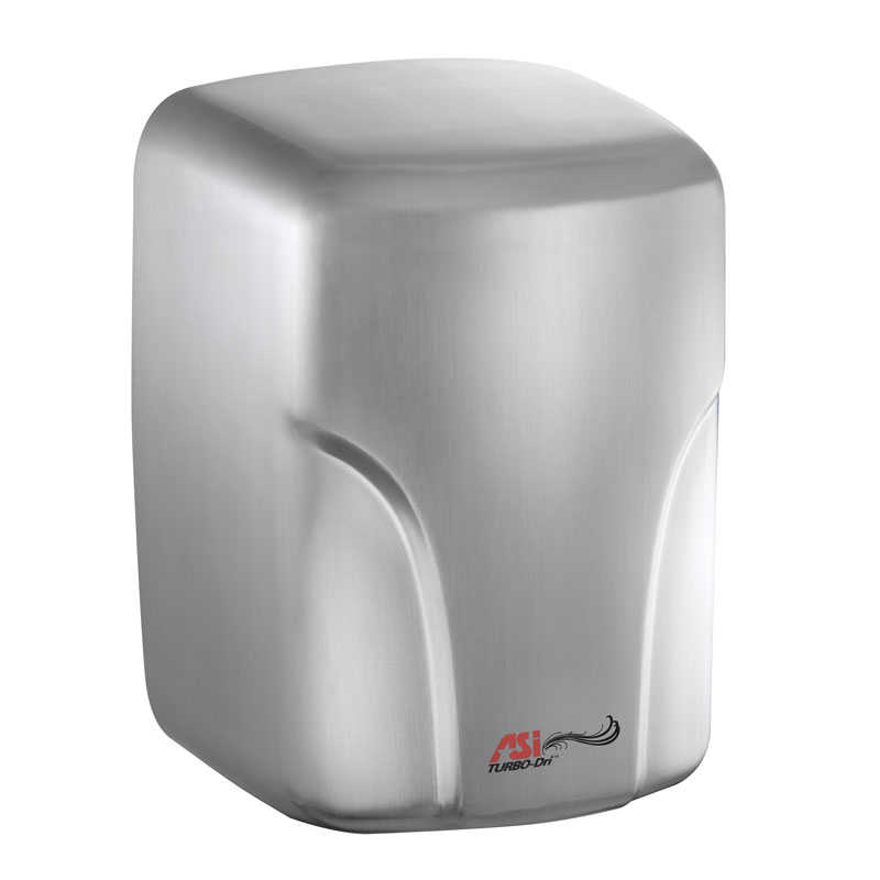 TURBO-Dri High-Speed Automatic Hand Dryer - 110/120V - Satin Stainless Steel