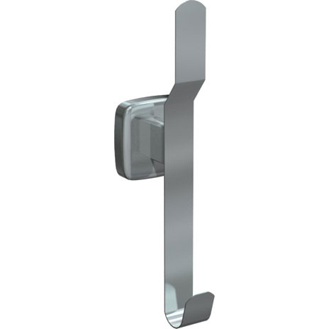 Stainless Steel Hat & Coat Hook - Satin Finish - 3