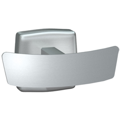 American Specialties [7345-S] Surface Mounted Stainless Steel Double Robe Hook - Satin Finish - 1 5/8
