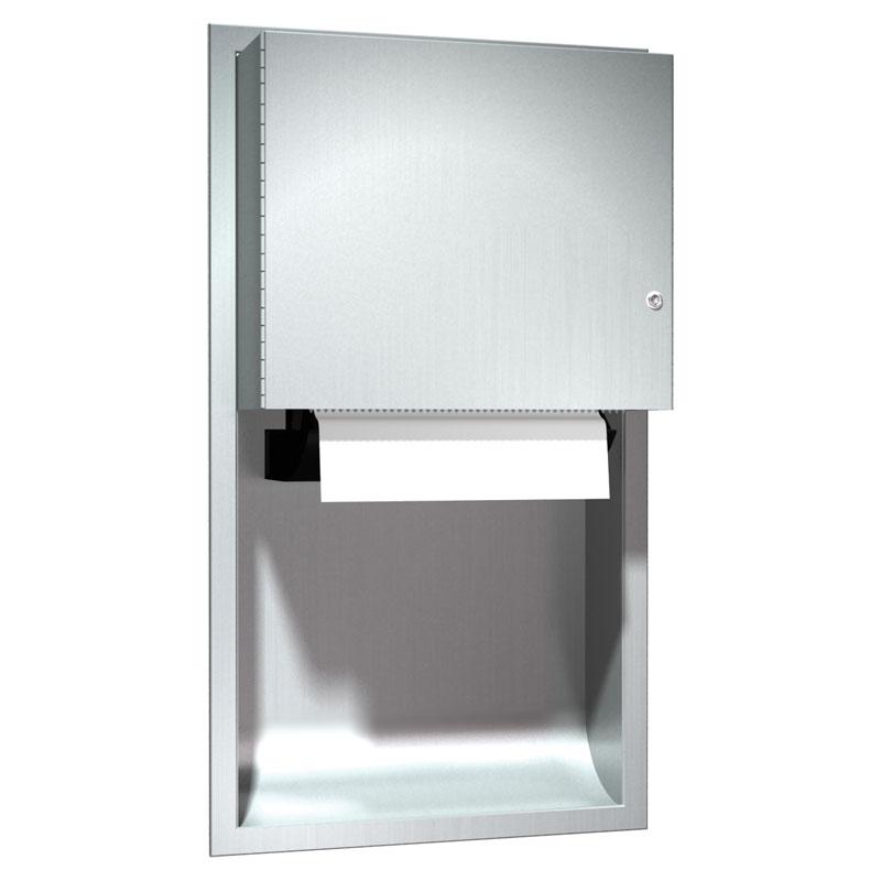 Commercial Touchless Paper Towel Dispenser ~ Recessed automatic paper towel dispenser unoclean