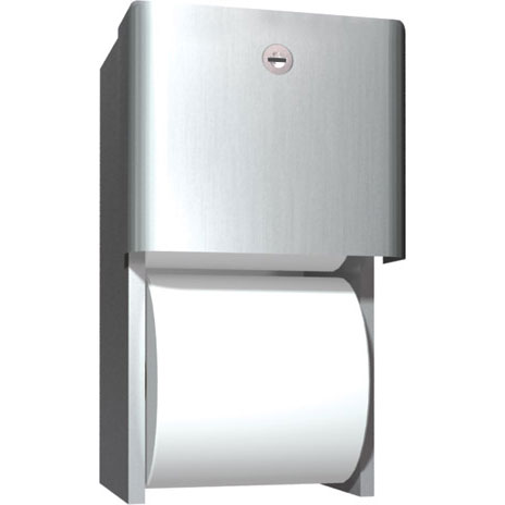 ASI Dual Roll Toilet Tissue Dispenser