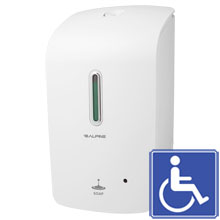 Alpine White Automatic Liquid Soap Dispenser