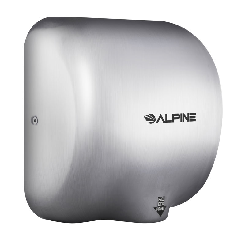 Hemlock Stainless Steel High Speed Touchless Hand Dryer