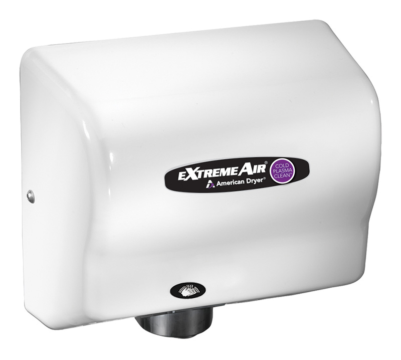American Dryer ExtremeAir CPC Automatic Hand Dryer - White ABS