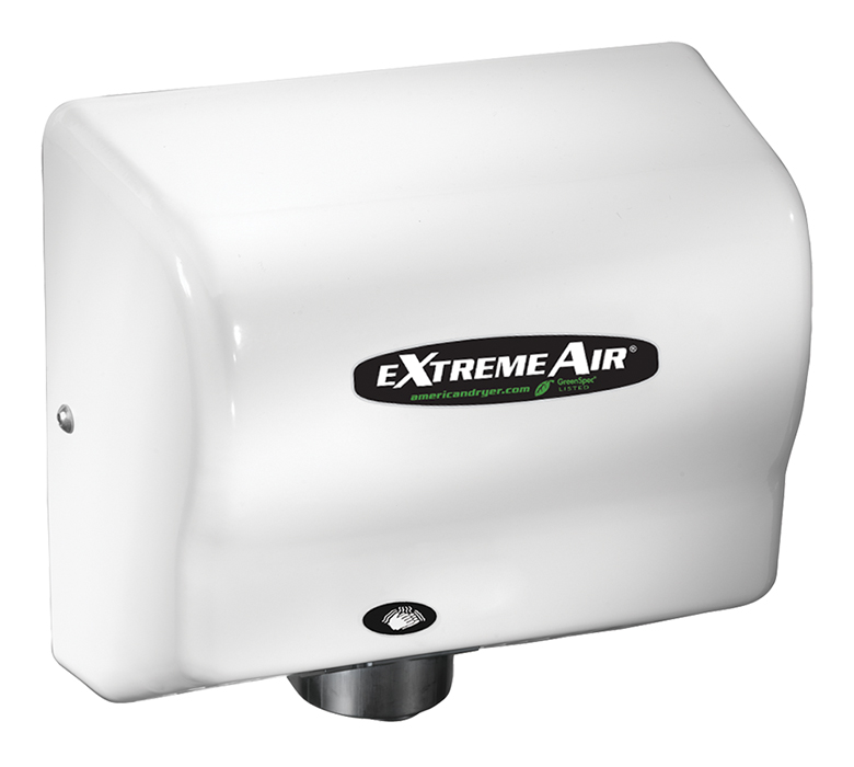 ExtremeAir GXT9 High-Speed Hand Dryer - White ABS