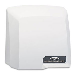 Bobrick Compact Surface-Mounted Automatic Hand Dryer