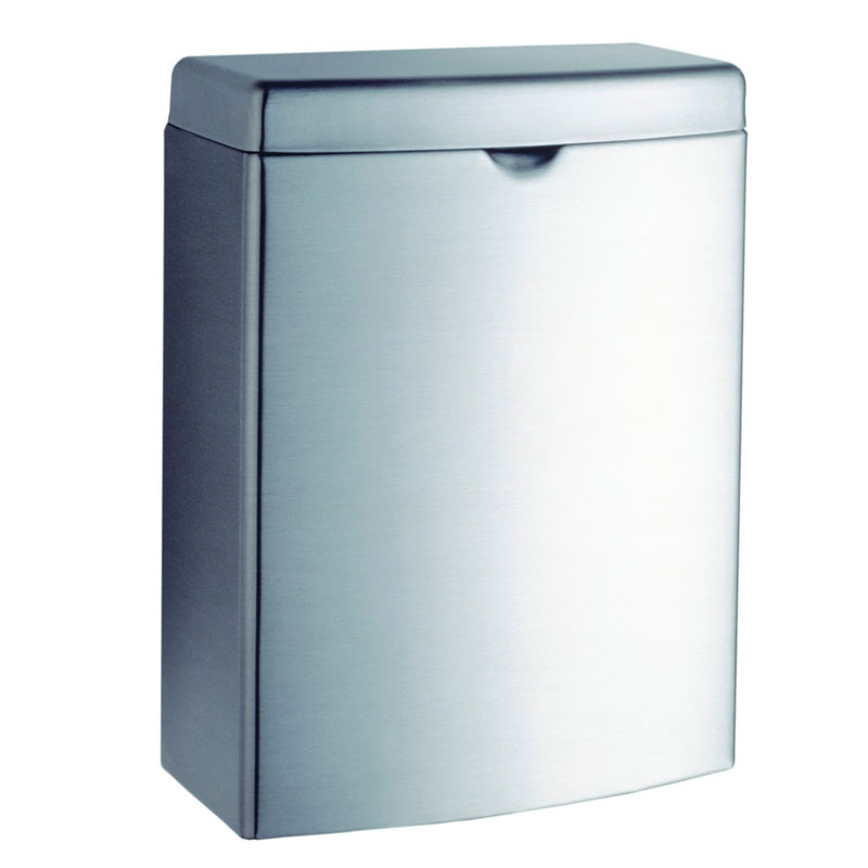Contura Series Stainless Steel Sanitary Napkin Disposal Receptacle