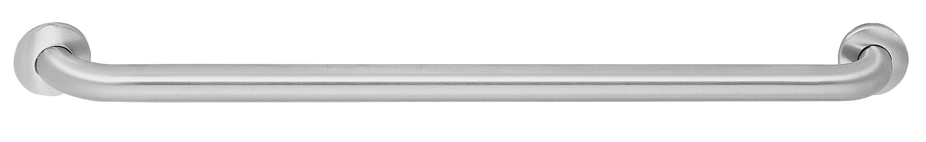 Bradley Washroom Grab Bars are designed for safety and security for the physically disabled and handicap. The 812 Series bathroom handles are made with 18-gauge stainless steel, seamless construction with concealed mounting.