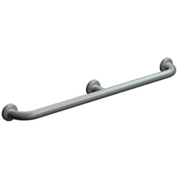 Bradley Concealed Mounted Satin Finish Grab Bar