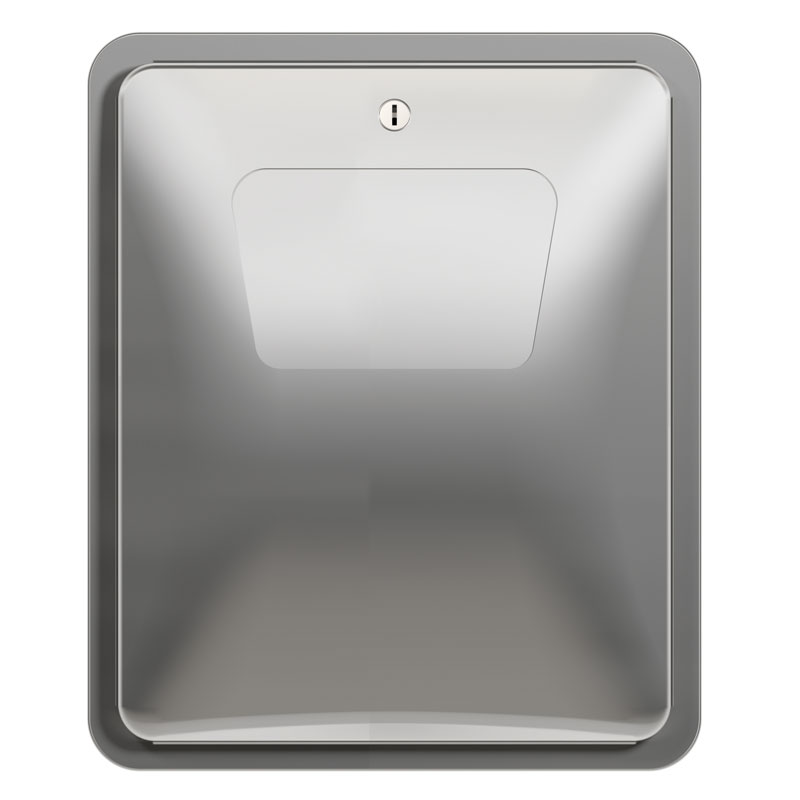 Recessed Diplomat Waste Napkin Disposal