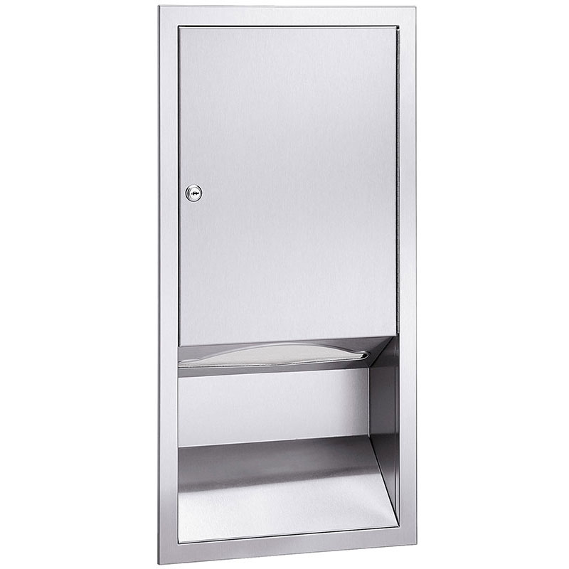 Bradley 244-10 C-Fold/Multi-Fold Surface-Mounted Towel Dispenser