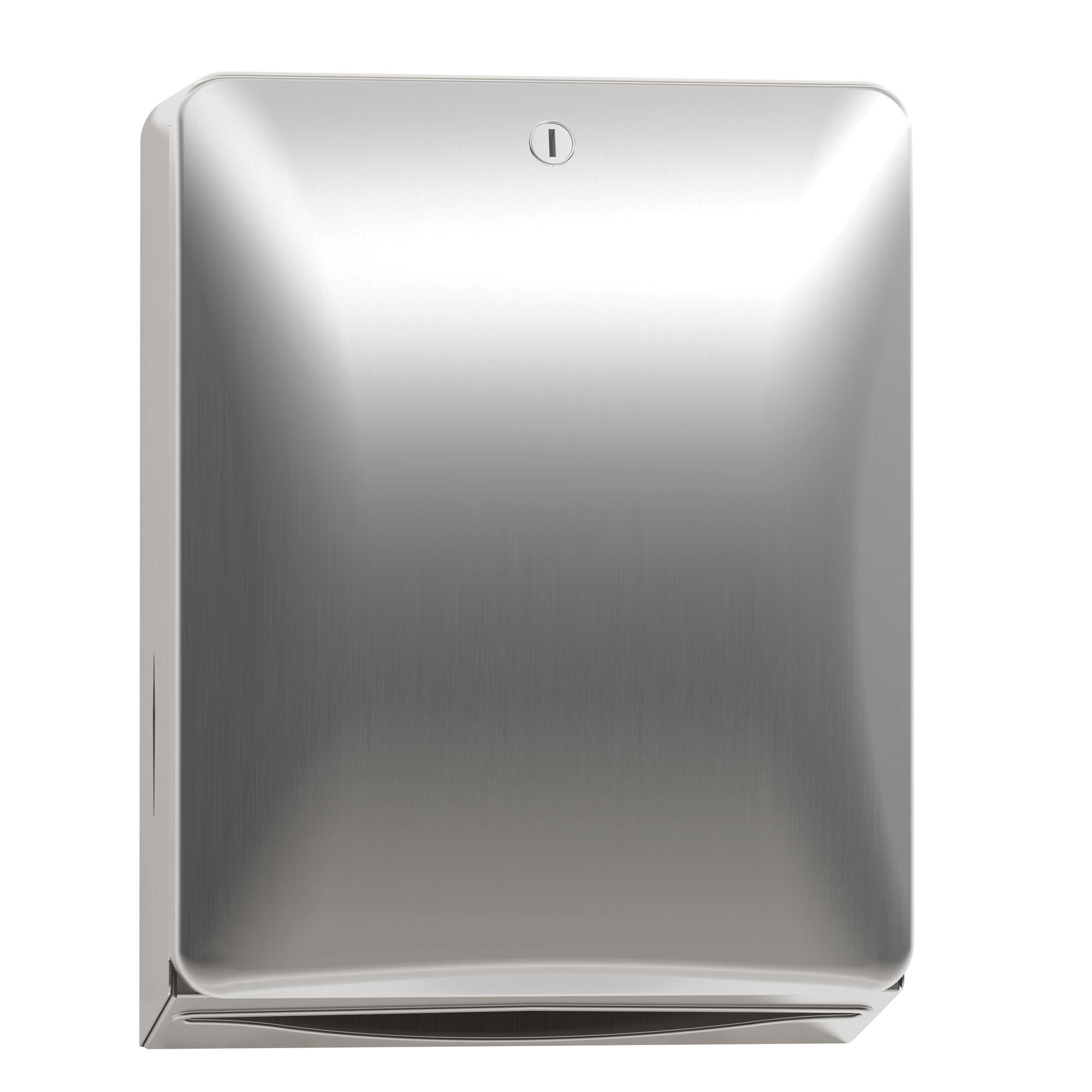 Bradley Diplomat Semi-Recessed Folded Paper Towel Dispenser