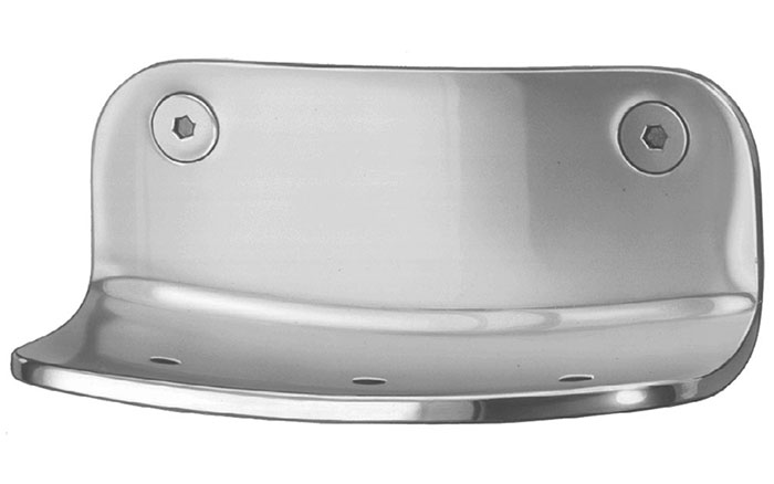 Front Mounted Heavy-Duty Security Soap Dish