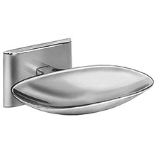 Chrome Plated Surface Mounted Drainage Soap Dish