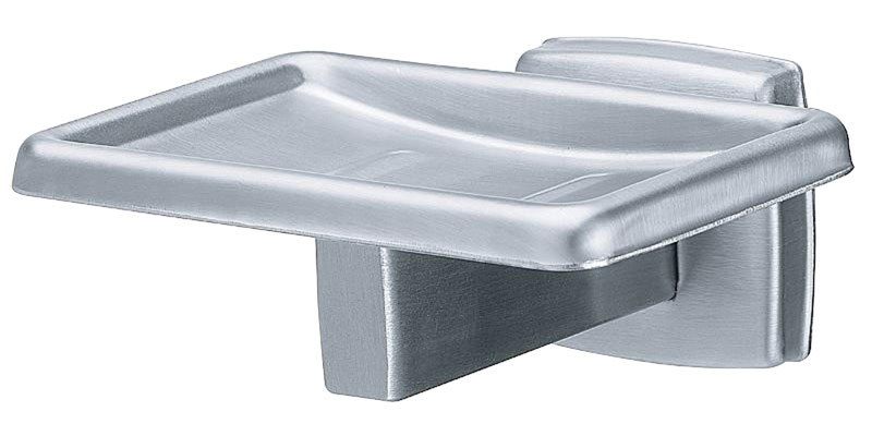 Polished Surface Mounted Stainless Steel Soap Dish