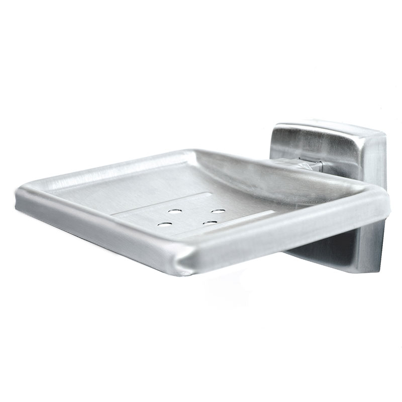 Surface Mounted Stainless Steel Soap Dish Holder