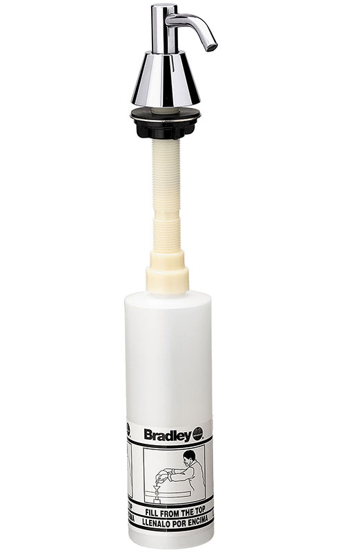 Bradley Spout Pump Liquid Soap Dispenser