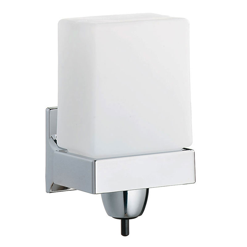 Bradley Surface Mounted Short Rectangular Liquid Soap Dispenser