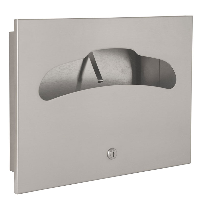 Contemporary Toilet Seat Cover Dispenser