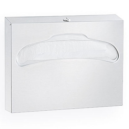 Surface Mounted High Capacity Toilet Seat Cover Dispenser