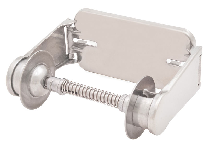 Adjustable Tension Spring Control Single Roll Tissue Dispenser