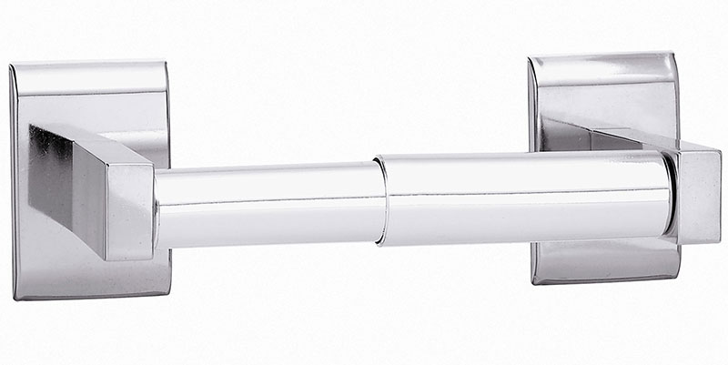 Single Roll Toilet Paper Holder - Chrome Plated