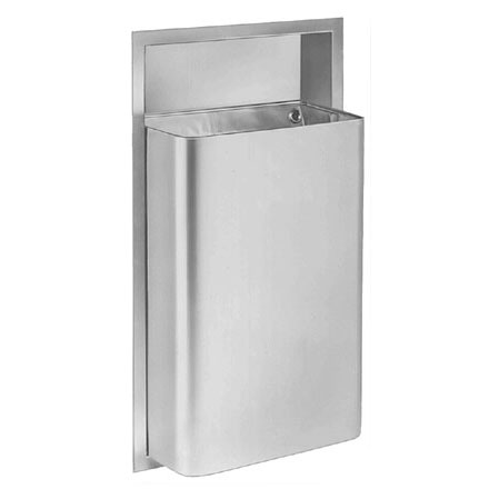 Contemporary 12 Gallon Waste Disposal - Recessed