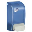 Dial® [06056] Complete® 1000-ml Antimicrobial Foaming Hand Soap System Wall Mount Dispenser - Translucent Blue