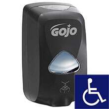 GOJO TFX 1200ml Touch-Free Foaming Soap Dispenser - Black