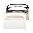Krystal [KD100] Wall Mount Toilet Seat Cover Dispenser - Plastic - White