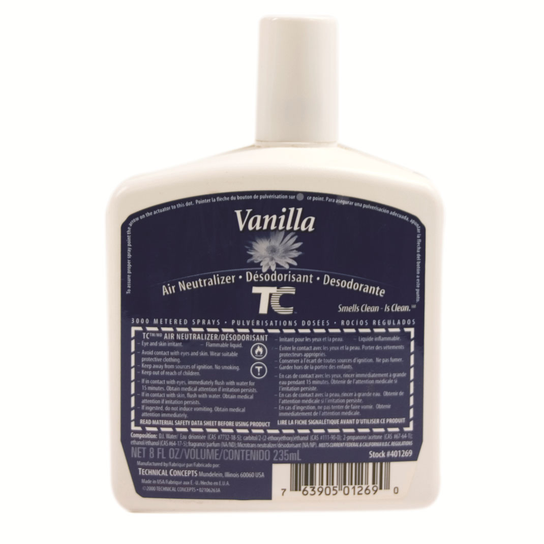 AutoFresh Pump Air Neutralizer Refills - Vanilla