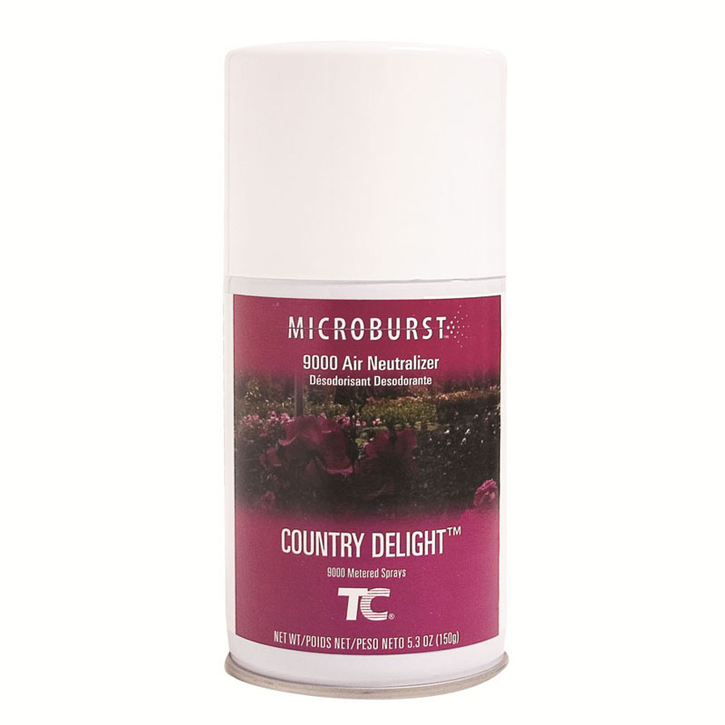 TC Microburst 9000 Aerosol Air Neutralizer Refills - Country Delight