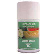 TC Microburst 9000 Aerosol Air Neutralizer Refills - Cucumber Melon
